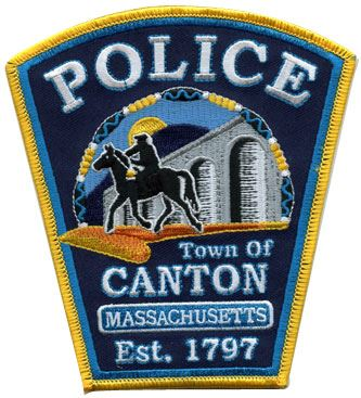 Canton Police Department Patch