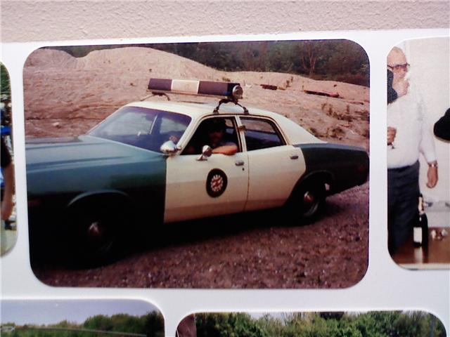 Old Canton Police Cruiser